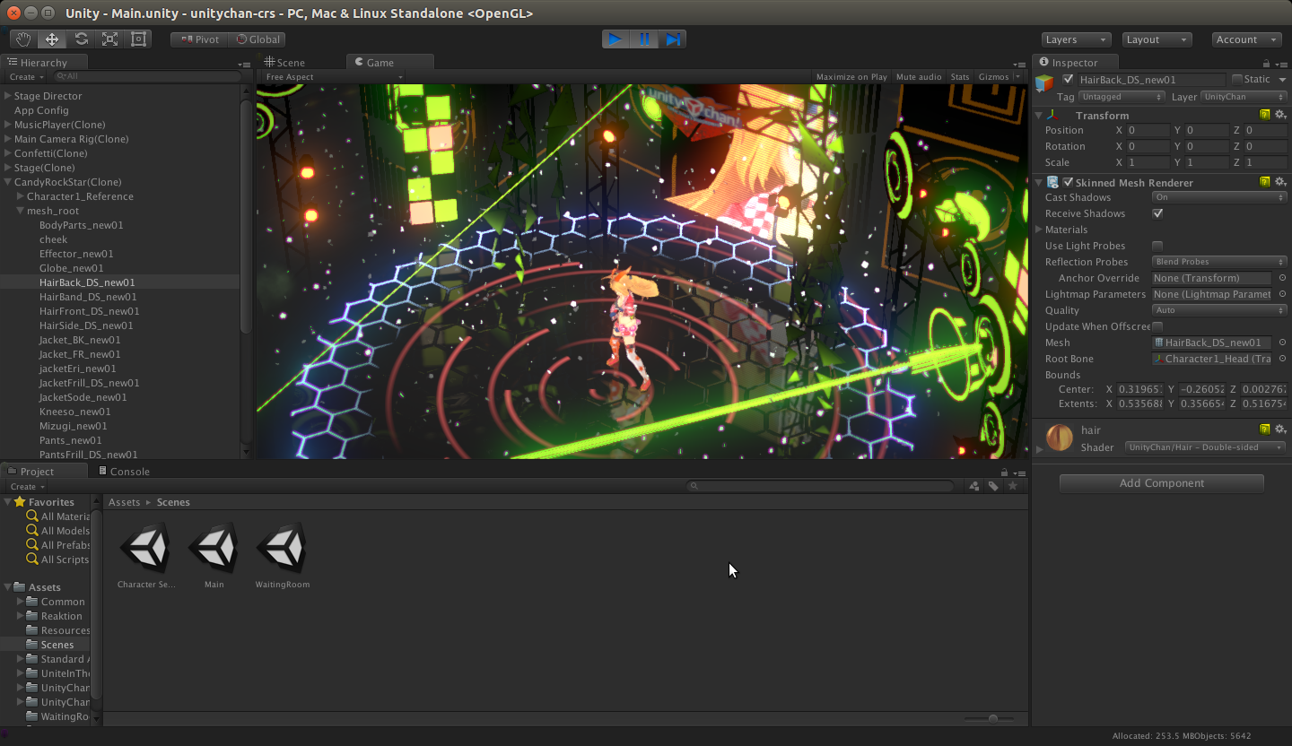 Unity 3d games editor is now available on linux 3d editor