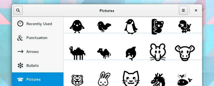 gnome-emoji-pallette