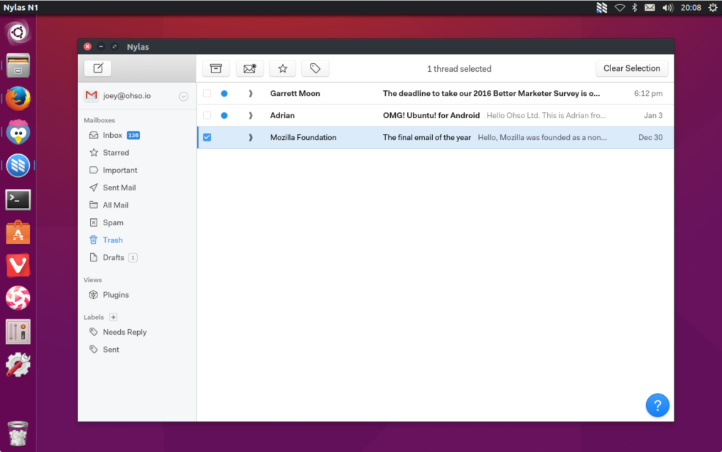 15 Best native e-mail clients for Linux as of 2019 - Slant