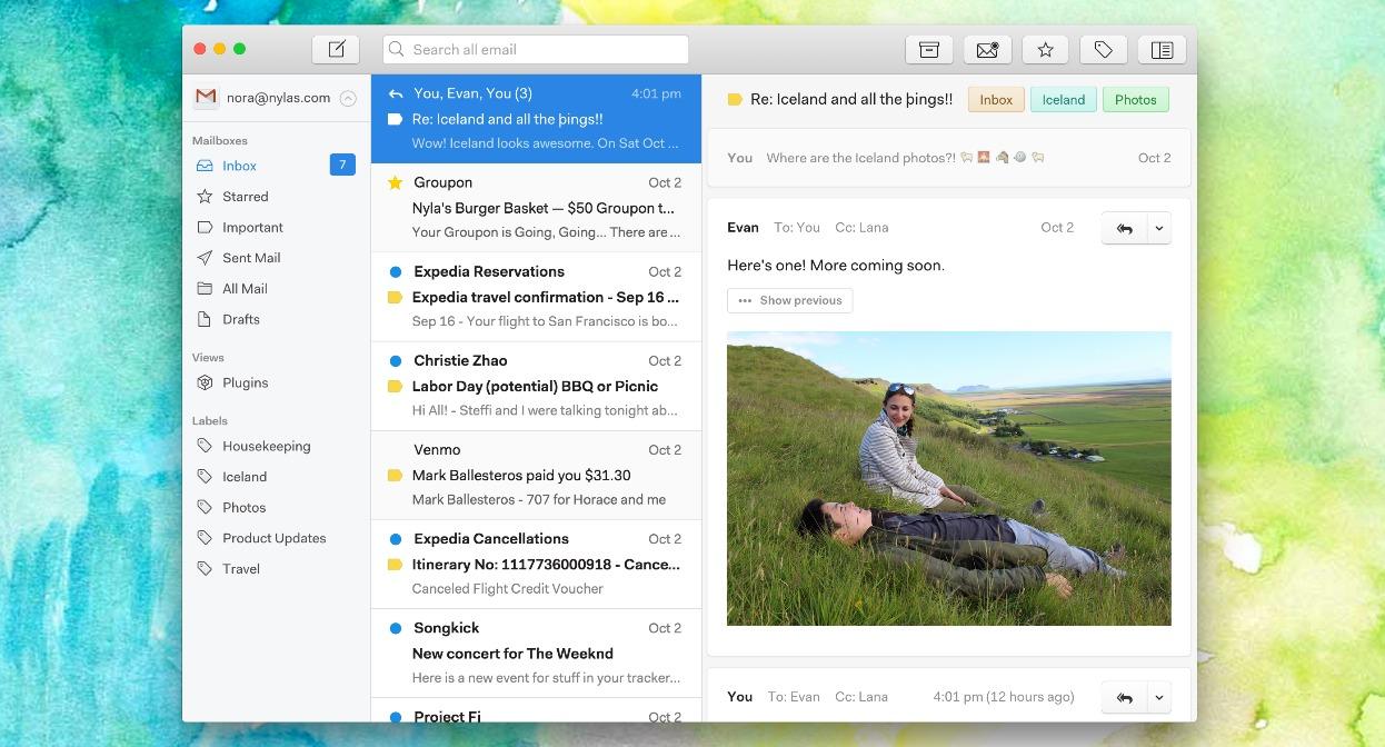 Windows 7 Nylas N1 2.0.14 full