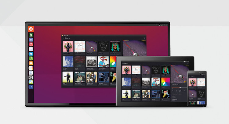 ubuntu convergence across devices