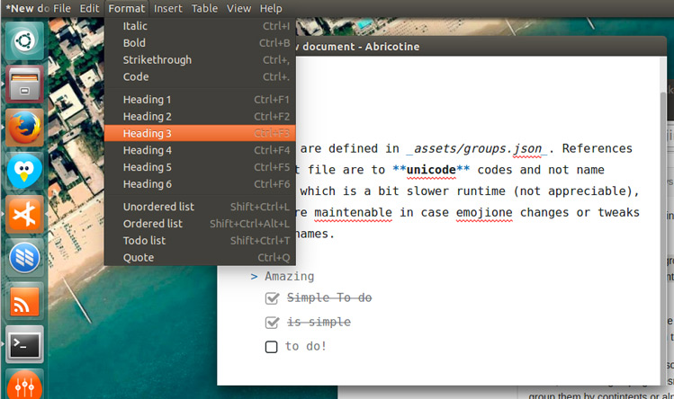 39 Abricotine 39 Is A Neat Markdown Editor For The Linux Desktop