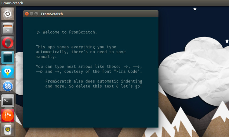 'FromScratch' Is A Smart New Note Taking App for Ubuntu