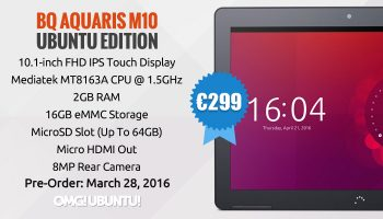 Ubuntu M10 Ubuntu Tablet FHD Model