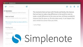 simplenote on linux