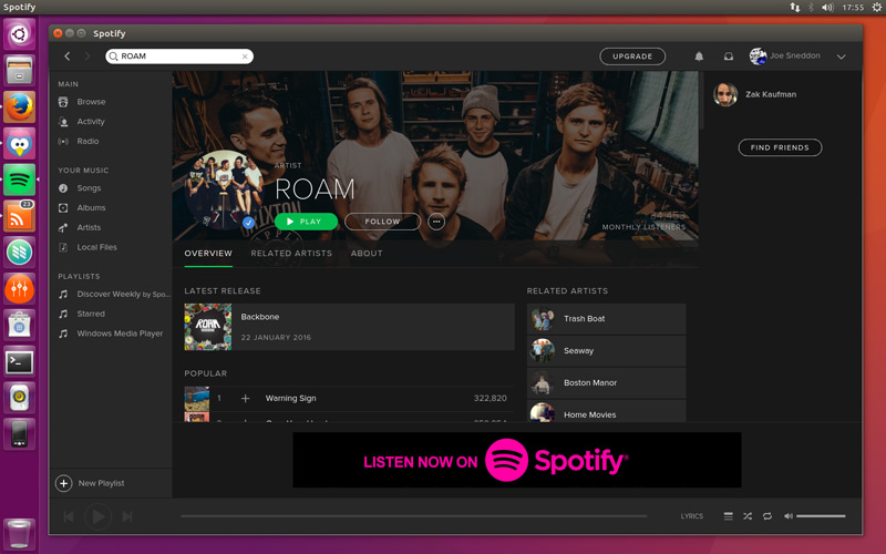 Spotify for Linux Is No Longer In Active Development - OMG! Ubuntu!