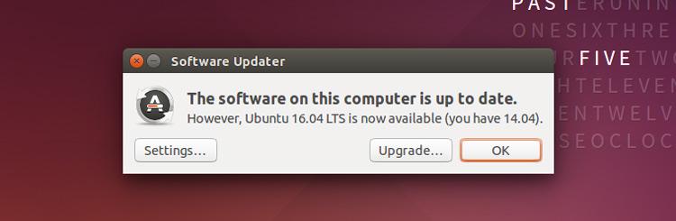 Updating ubuntu 14 04