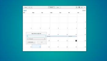gnome calendar app