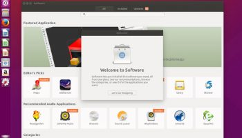 software center new to ubuntu 16.04 LTS