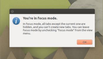 focus mode in min