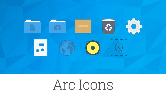 There's Now An Official Arc Icon Theme for Linux