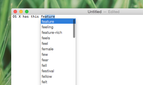 word equivalent in linux