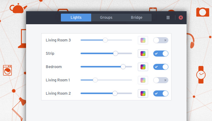 New Philips Hue Linux App Lets Tux Fans Control Their Lighting
