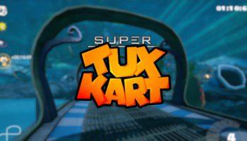 super tux kart logo