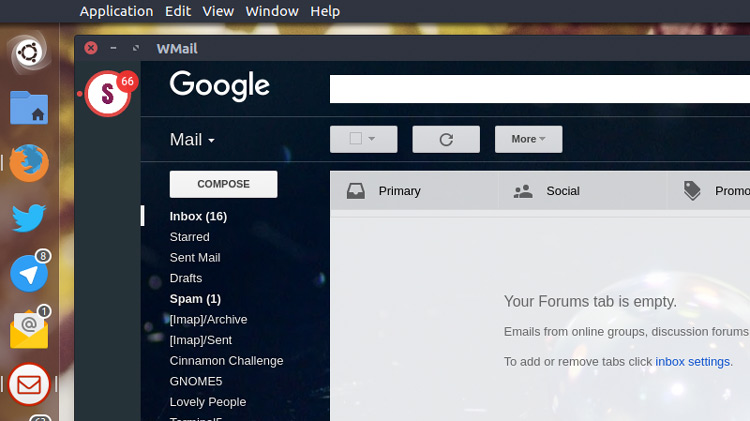 WMail Is a Desktop App For Gmail (And Yes, It Supports Linux
