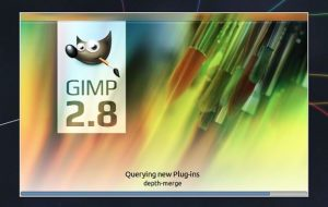 default stock gimp splash screen