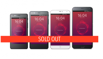 ubuntu phones sold out
