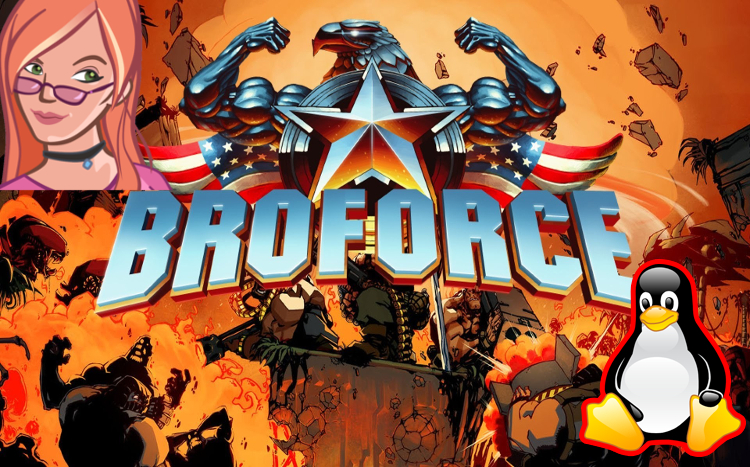 broforce title screen