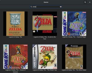 gnome games zelda covers
