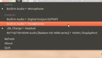 sound switcher applet for ubuntu