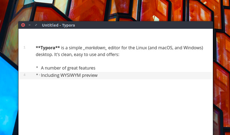 Stylish Markdown Editor 'Typora' Is Now Available for Ubuntu - OMG