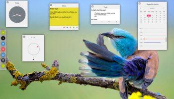 plexydesk widgets running on ubuntu