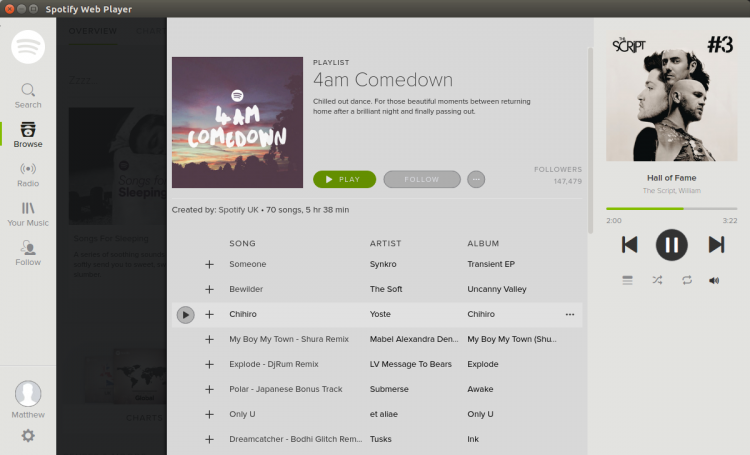spotify light theme