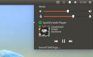 Sound Menu Integration