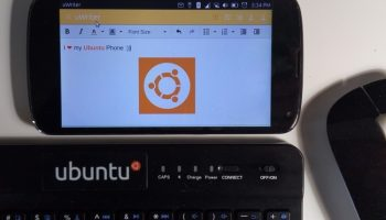 uwriter on ubuntu phone
