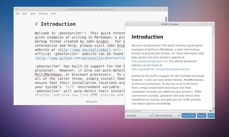 Ghostwriter linux distro hausarbeit personal motivation