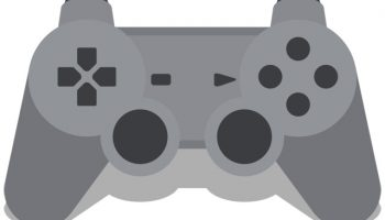 flat playstation gamepad