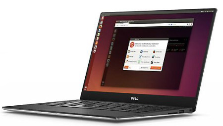 dell linux laptop