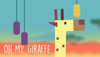 oh my giraffe with text