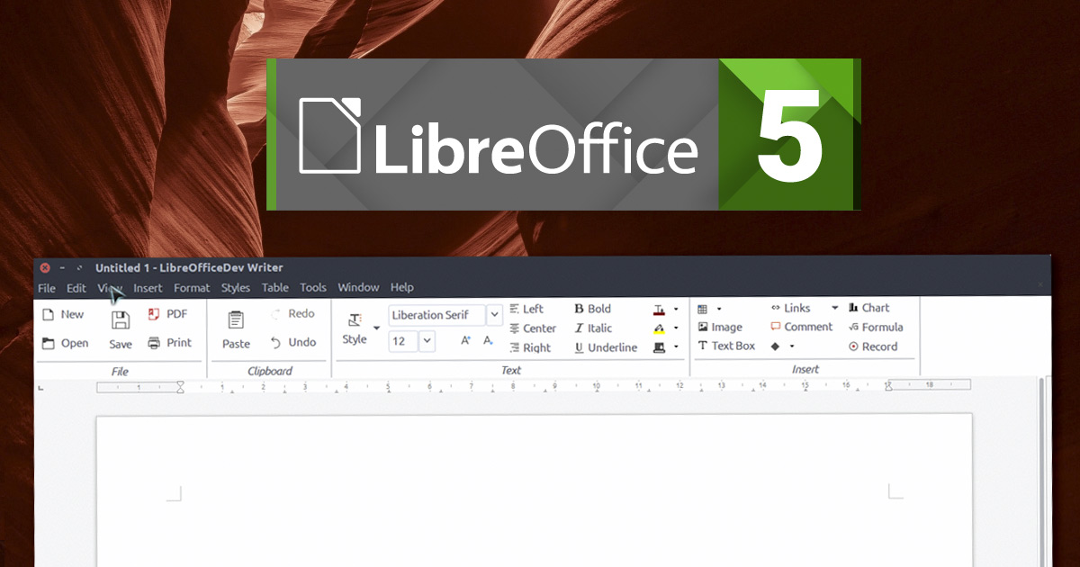 LibreOffice 5 3 Is The...