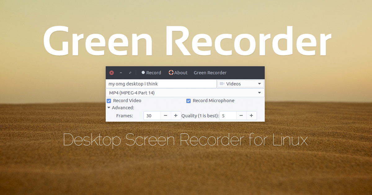 A Lightweight Screen Recorder for Linux (Updated) - OMG! Ubuntu!