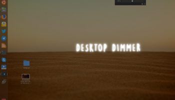 desktop dimmer on ubuntu