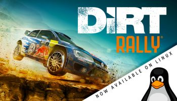 dirt rally linux hero image