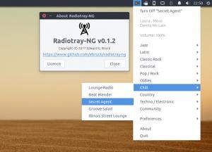 Radiotray-NG on Ubuntu 16.04 LTS