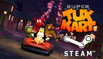 supertuxkart on steam logo