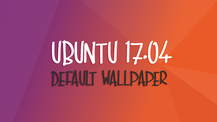 This Is The Ubuntu 1704 Default Wallpaper