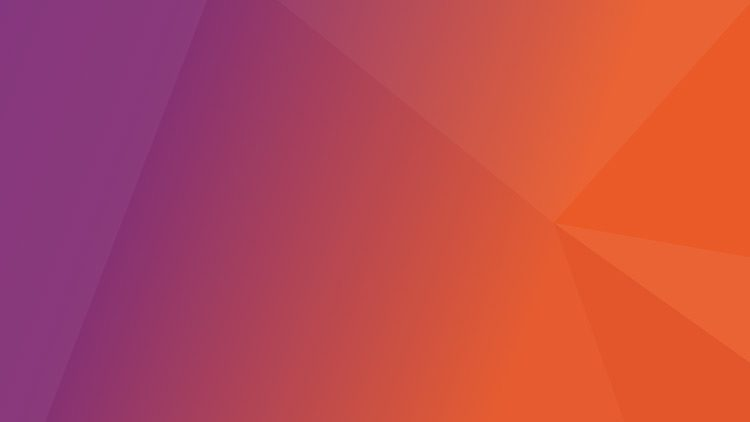 the ubuntu 17.04 default wallpaper