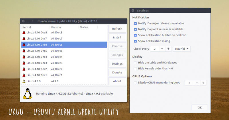 Ukuu Makes it Easy to Install Mainline Linux Kernels on Ubuntu - OMG