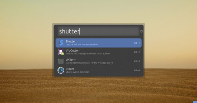 ulauncher on ubuntu