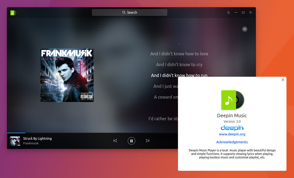 Rock On: Deepin Music is Now Available as a Snap App on