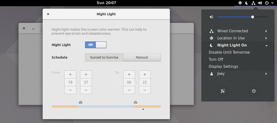 How to Adjust the Color Temperature of GNOME Night Light