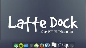 kde latte dock