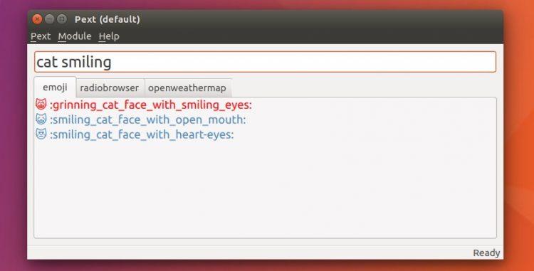 pext on ubuntu 16.04