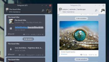 telegram arc theme