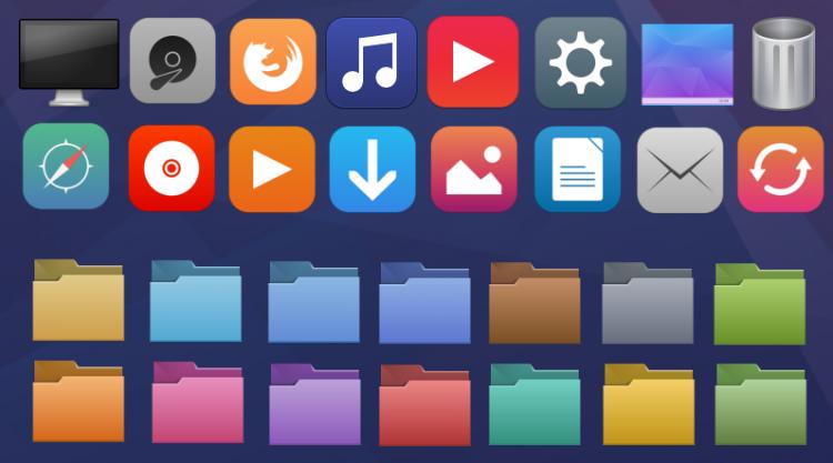 vibrancy colors icon theme