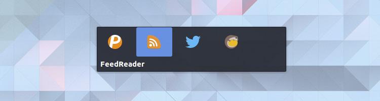 alt tab switcher in Budgie 10.3